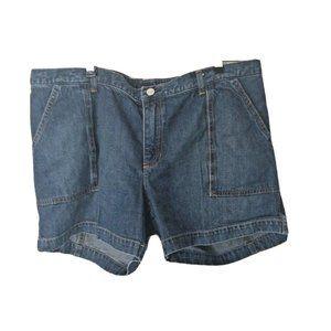 Gap Shorts Size 14 Maternity Jeans Denim